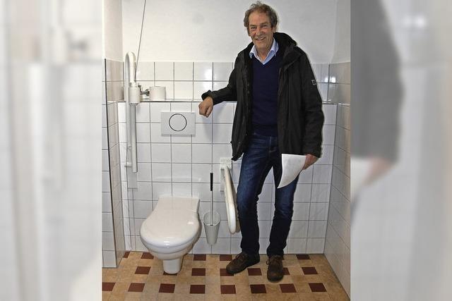 Öffentliches WC für Behinderte