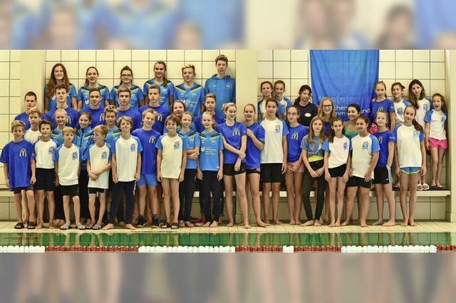 Regio-Nachwuchsschwimmer glänzen beim Badenfinale