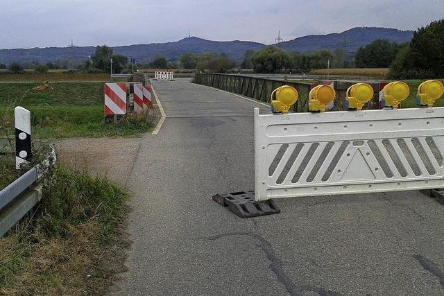 Ende einer Brücke