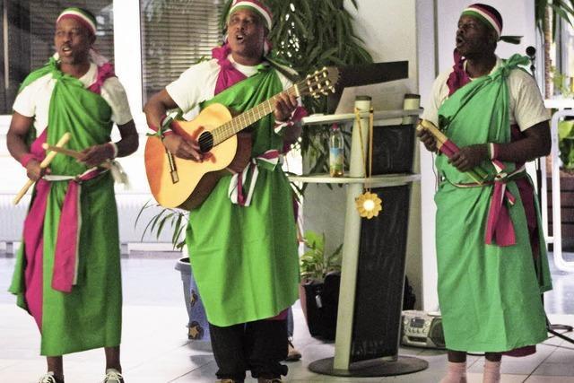In der École Mahoro wird auch friedliches Zusammenleben gelernt
