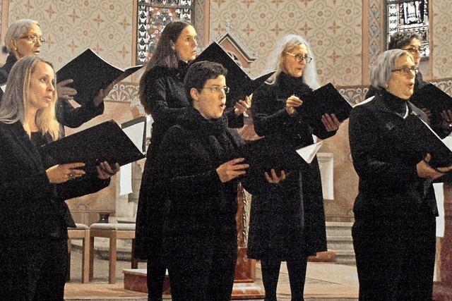 Chor mit einer Vielfalt an Ausdrucksmöglichkeiten
