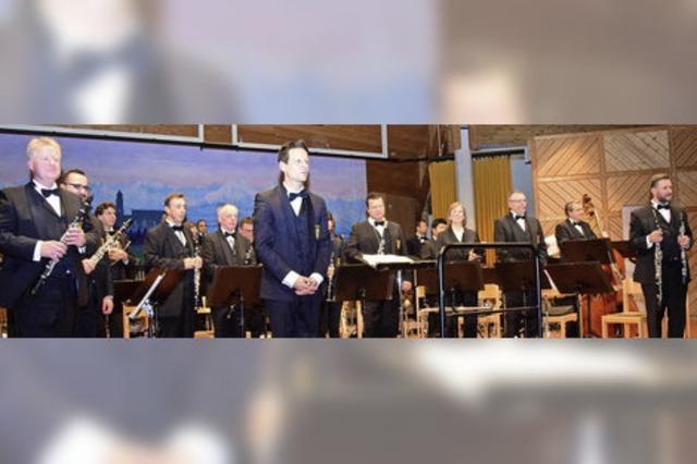 Mit Benefizkonzert unterstützt das Landespolizeiorchester die Bergwachten in Höchenschwand und Bernau