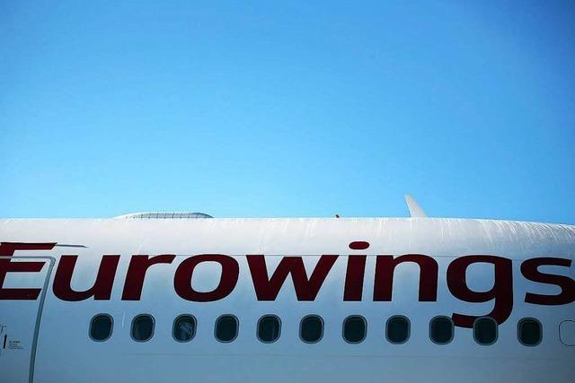 Tarifgespräche bei Eurowings gescheitert - Streik ab Donnerstag