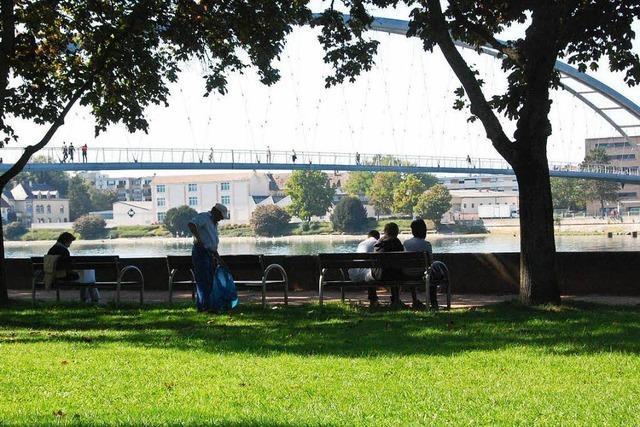 Zwei Vorschläge für Umgestaltung des Friedlinger Rheinparks