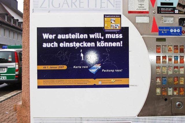 Unbekannte brechen Zigarettenautomaten in Kenzingen und Herbolzheim auf