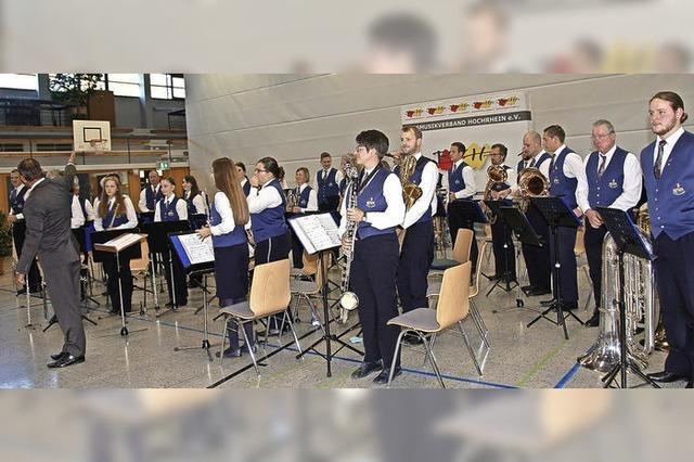 Stadtmusik Stühlingen punktet beim Wertungsspiel