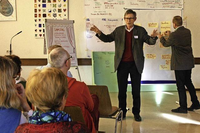 In der evangelischen Kirchengemeinde fand eine Zukunftskonferenz statt