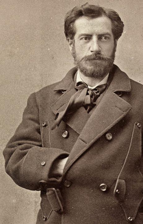 Frédéric-Auguste Bartholdi  | Foto: N. Sarony