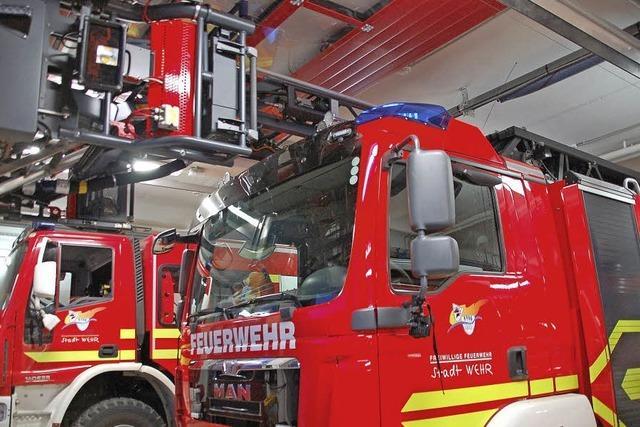 Anbau an das Gerätehaus der Feuerwehr wird eingeweiht