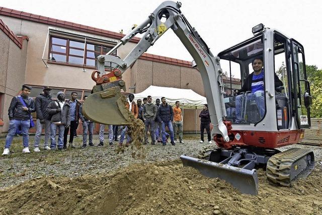 Bauwirtschaft wirbt um Nachwuchs