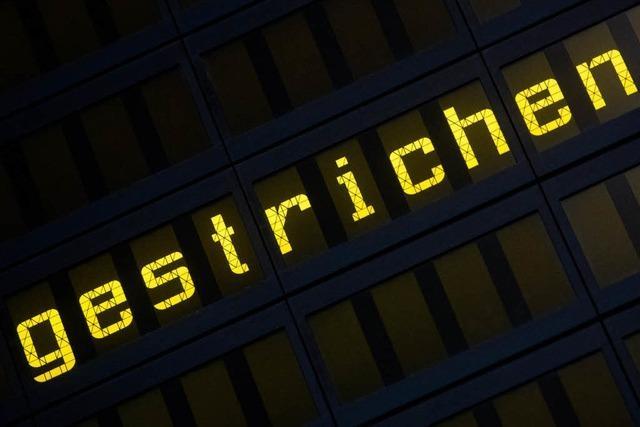 Germanwings-Flüge in Stuttgart und Basel gestrichen