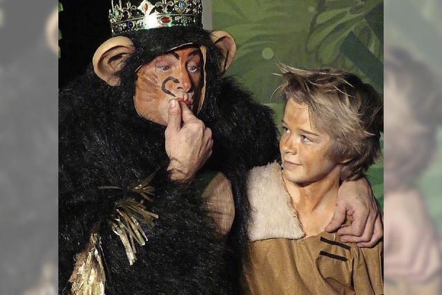 Das Dschungelbuch im Cala-Theater zu sehen