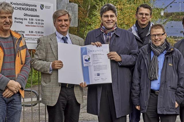 Lachengraben erfüllt hohen Umweltstandard