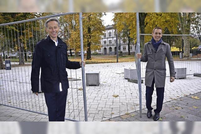Der Hebelpark gehört wieder den Bürgern