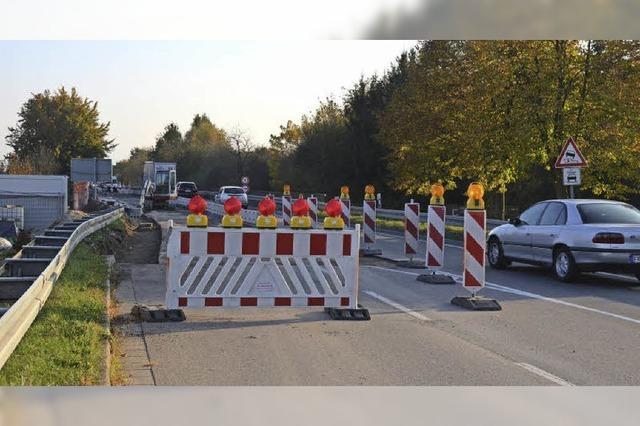Brückensanierung auf B 31 bei Hausen dauert länger