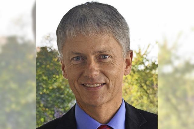 Michael Benitz will Bürgermeister von Staufen bleiben