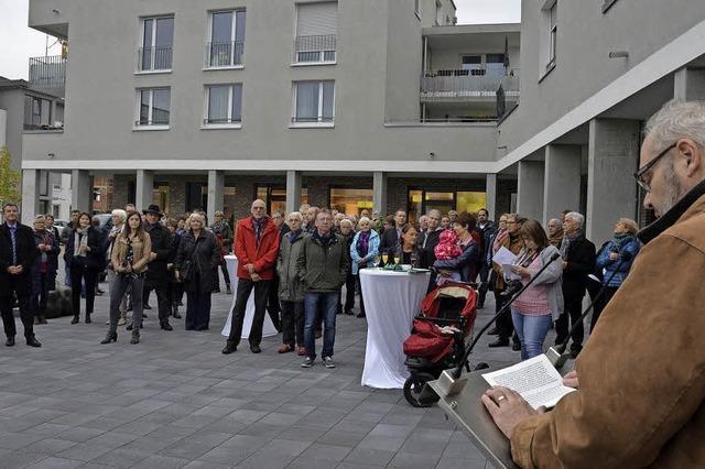 Am Bad Krozinger Mozartplatz ist nur noch eine Ladenfläche frei