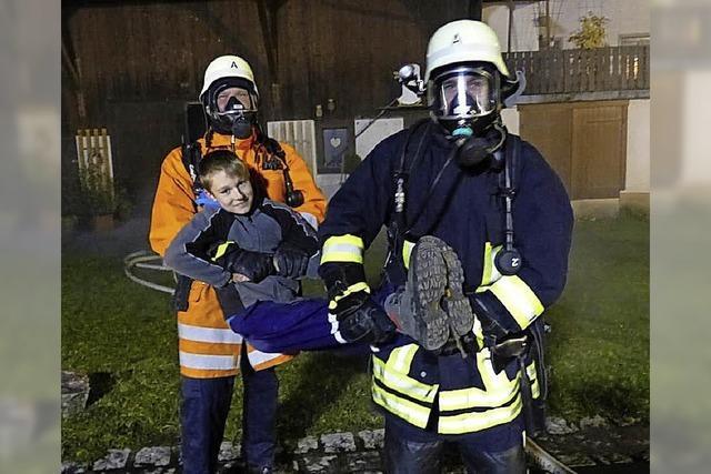 Einwandfreie Leistung der Rettungskräfte
