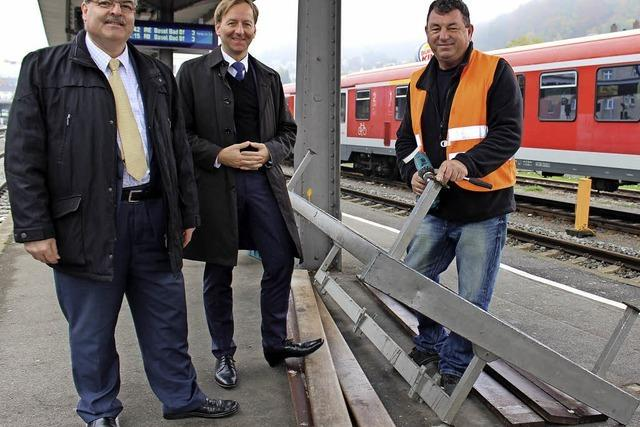 Bahnhof erstrahlt in neuem Glanz