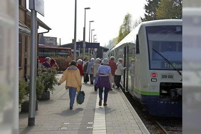 Keine Züge zwischen Elzach und Bleibach