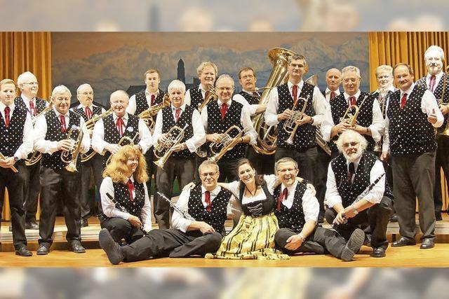 Mit den Bötzberg-Musikanten in Höchenschwand