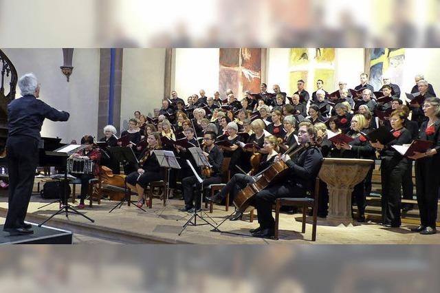 Das Gloria und das Magnifikat von Vivaldi in der evangelischen Stadtkirche