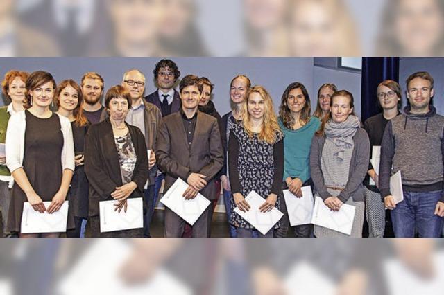 Rektor Ulrich Druwe gibt der PH Freiburg gute Noten