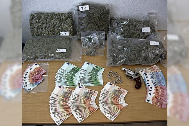 Drogentrio löste Polizeieinsatz im Stühlinger aus