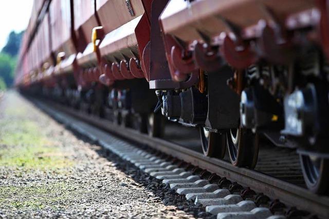 Bund will laute Güterzüge bis Ende 2020 aus dem Verkehr ziehen