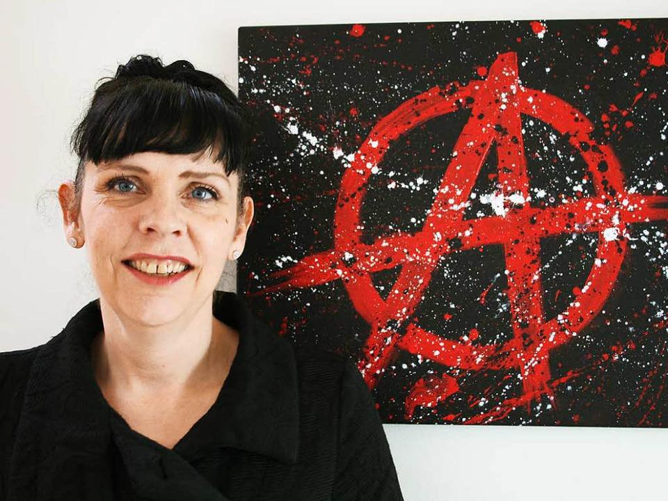 Piratin Birgitta Jonsdottir   | Foto: DPA