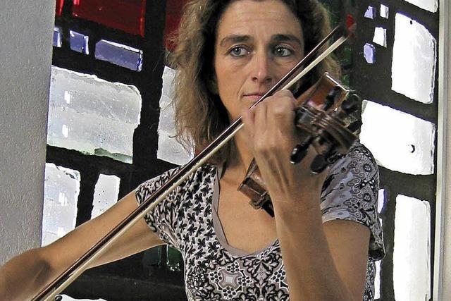 Orgel und Violine im Klangraum Kirche
