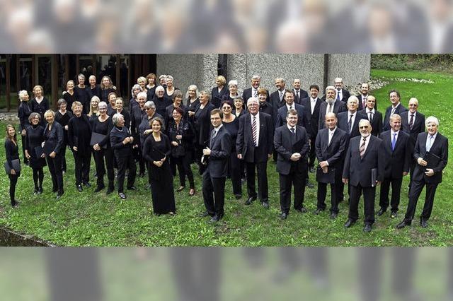 Kantorei Hochrhein führt Mendelssohns Oratorium in der Versöhnungskirche Waldshut auf