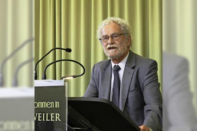 Vortrag mit Professor Dr. Rolf-Dieter Kluge in Badenweiler