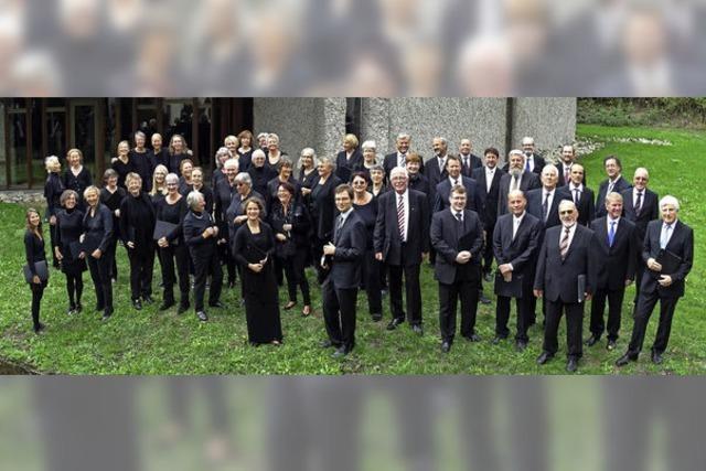Hochrhein Kantorei und Sinfonieorchester L'arpa Festante in Waldshunt