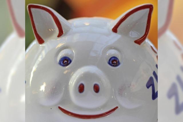 Und noch einen Schein ins Schwein