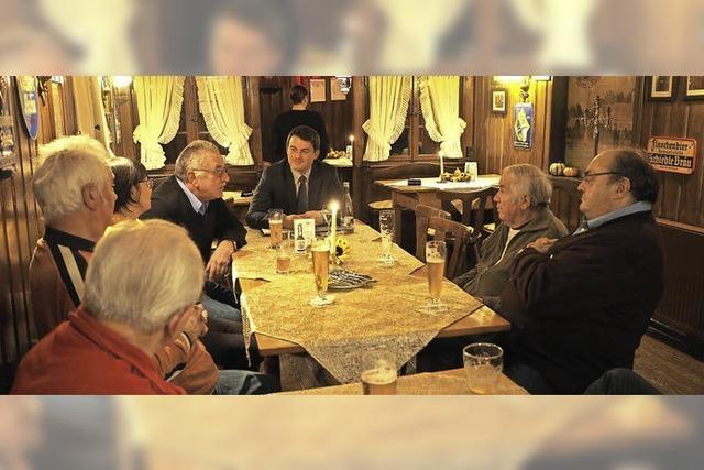 Auf ein Bier mit dem Bürgermeister