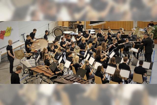 Jugendorchester Rickenbach mit Prädikat