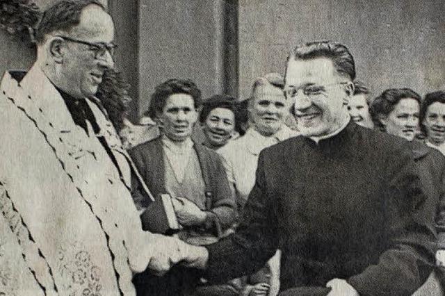 Hochbetagter Seelsorger Friedrich Trefzger feiert Geburtstag