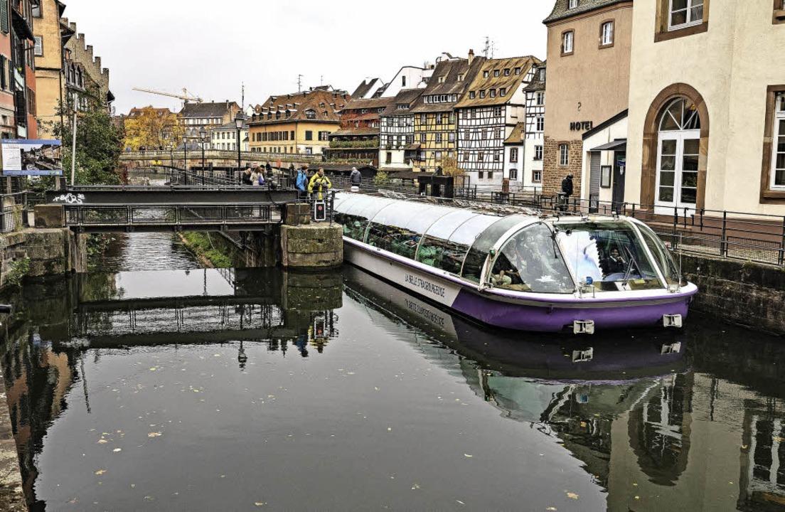 Ideal zum Transport von Baumaterial und auch Warenlieferungen: die Ill.   | Foto: TELI