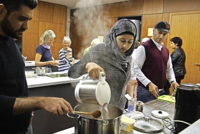 Kochtreff mit internationalem Flair