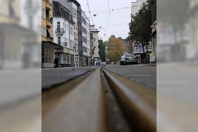 Wieder freie Fahrt in der Klybeckstraße
