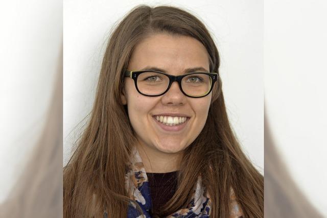 Eine Botschafterin ihrer Heimatstadt in Frankreich