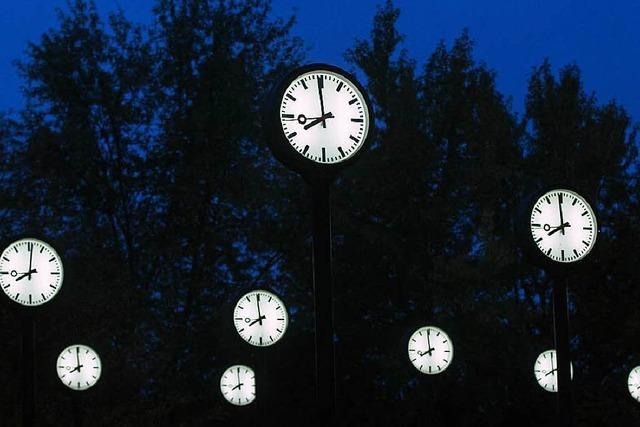 Am Sonntag werden die Uhren umgestellt