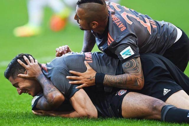 Bayer Leverkusen dreht in Wolfsburg das Spiel