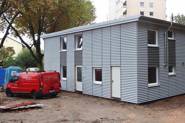 Unterkunft für Obdachlose und Flüchtlinge: Am 1. Dezember wird eingezogen