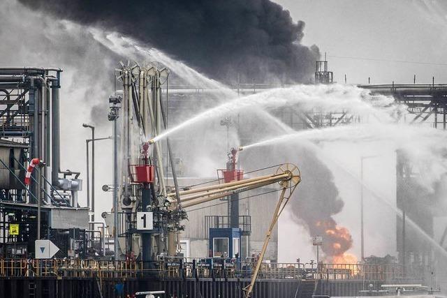 BASF: Zahl der Todesopfer nach Explosion auf vier gestiegen