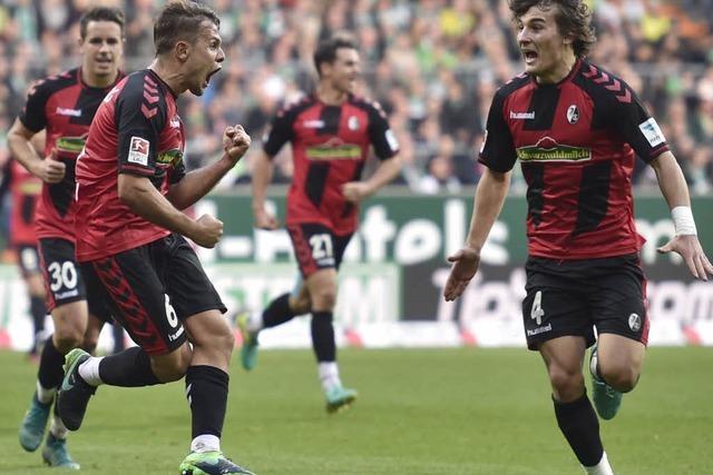 Auswärtstrend gestoppt: Freiburg gewinnt in Bremen mit 3:1 – Platz acht in der Tabelle