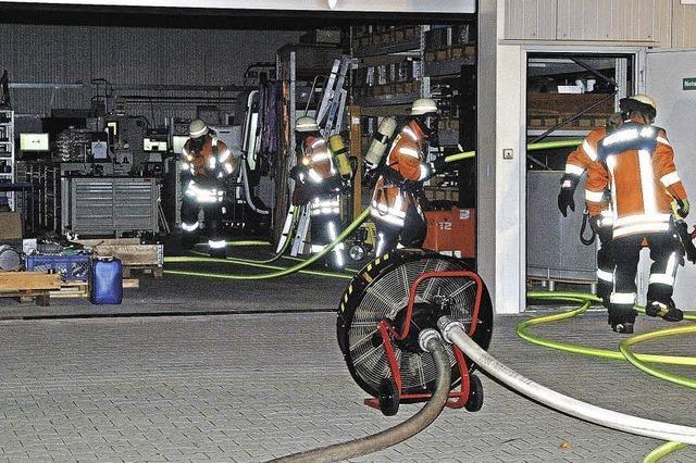 Gute Zusammenarbeit der Rettungskräfte