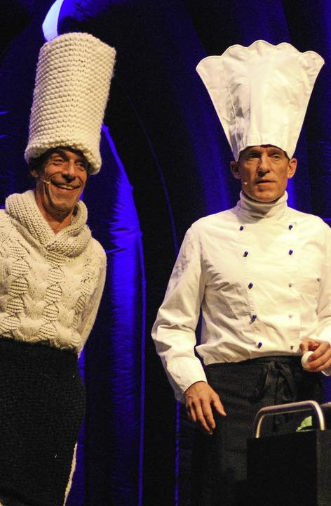 Thomas und Volker Martins von Oropax im Burghof     Foto: Thomas Loisl Mink