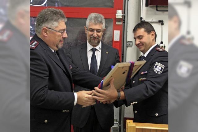 Ein großer Tag für die Feuerwehr in Wehr